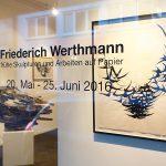 FRIEDERICH WERTHMANN - frühe Skulpturen und Papierarbeiten